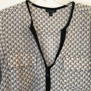 Cynthia Rowley Sheer Blouse